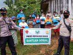 Polres Mabar Salurkan Bansos Tahap IV Bagi Masyarakat Terdampak Covid-19