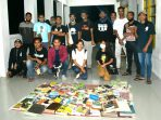 Dorong Gerakan Cinta Membaca, Komunitas Lorosae Buka Lapak Baca Gratis