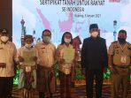 Bupati Kupang Imbau Masyarakat Gunakan Sertipikat Tanah Dengan Baik dan Bijak