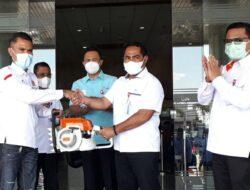 Peduli Bencana, Bank NTT Serahkan Bantuan 10 Unit Mesin Sensor