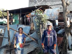 Ikat Atap Pakai Tali Jangkar, Rumah Warga Kupang Lolos dari Amukan Badai Seroja