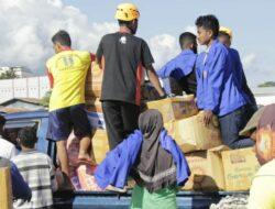 IKIP Muhammadyah Maumere Bangun Posko di Adonara, Distribusi Bantuan untuk Korban Bencana