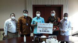 Jasa Raharja Salurkan Bantuan Kepada Korban Bencana Melalui Rekening Bank NTT Peduli