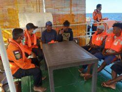 Mesin Kapal Mati, 5 Nelayan Asal NTT Berhasil Dievakuasi