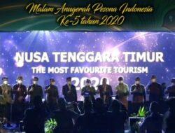 Jadi Tuan Rumah, NTT Juara Umum Anugerah Pesona Indonesia 2020