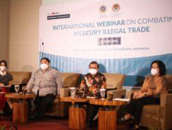 Indonesia Gelar Webinar Internasional, Perangi Perdagangan Merkuri Ilegal