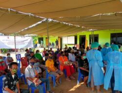 TPAKD Gelar Vaksinasi Massal kepada 1.250 Warga Semau