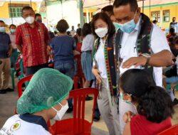 Pantau Vaksinasi Pelajar, Bupati Manggarai: Anak-anak Kita Pintar, Tapi Juga Harus Sehat