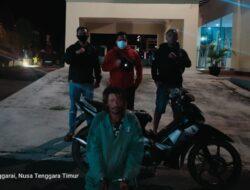 Unit Jatanras Polres Manggarai Amankan Seorang Pria, Diduga Pencuri Sepeda Motor
