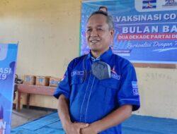 Partai Demokrat Gelar Vaksinasi Massal Bagi 1.200 Masyarakat Manggarai