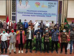 Gubernur Laiskodat Lepas Kontingen NTT untuk PON Papua, Pemprov Siapkan Bonus