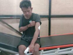 Warga Diduga ODGJ Ngamuk dan Bacok Seorang Pemuda di Ruteng
