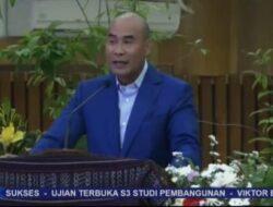 Disertasi Transformasi Pariwisata NTT Hantar Gubernur VBL Raih Gelar Doktor